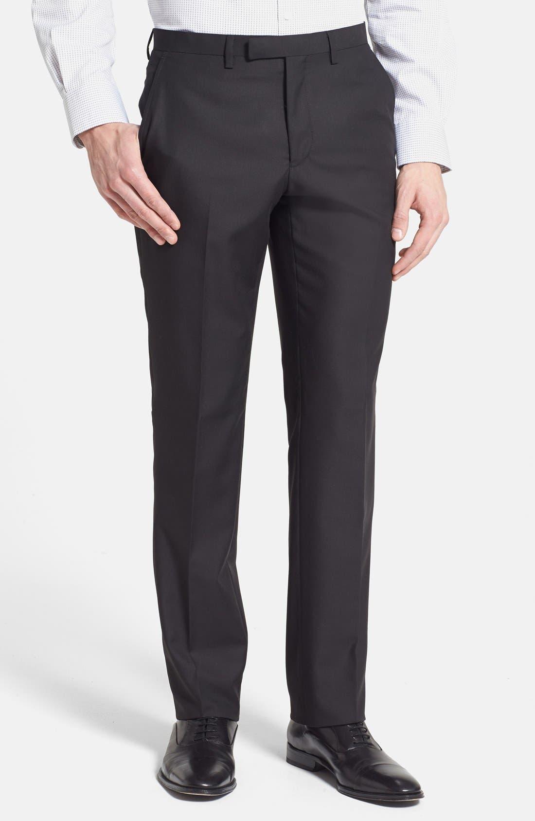 Alternate Image 4  - Rockin' Sartorial Trim Fit Wrinkle Resistant Travel Suit