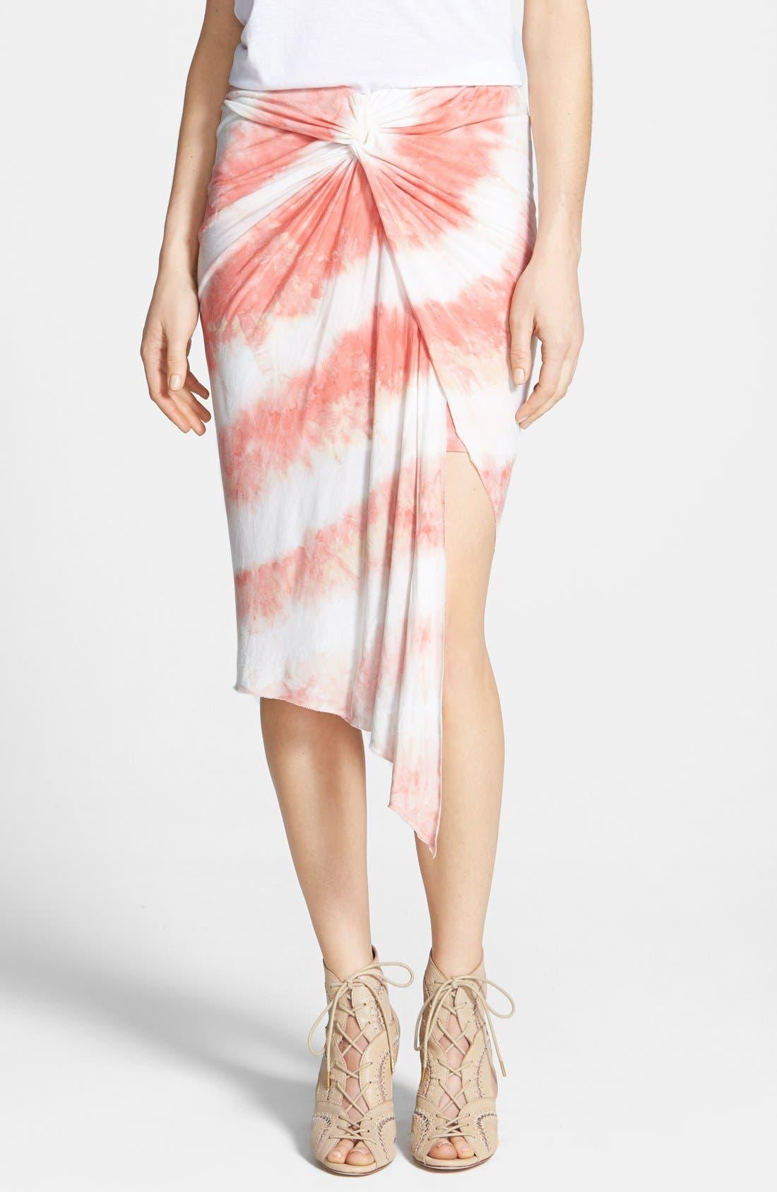 Alternate Image 1 Selected - Young Fabulous & Broke 'Kulani' Tie Dye Stripe Skirt