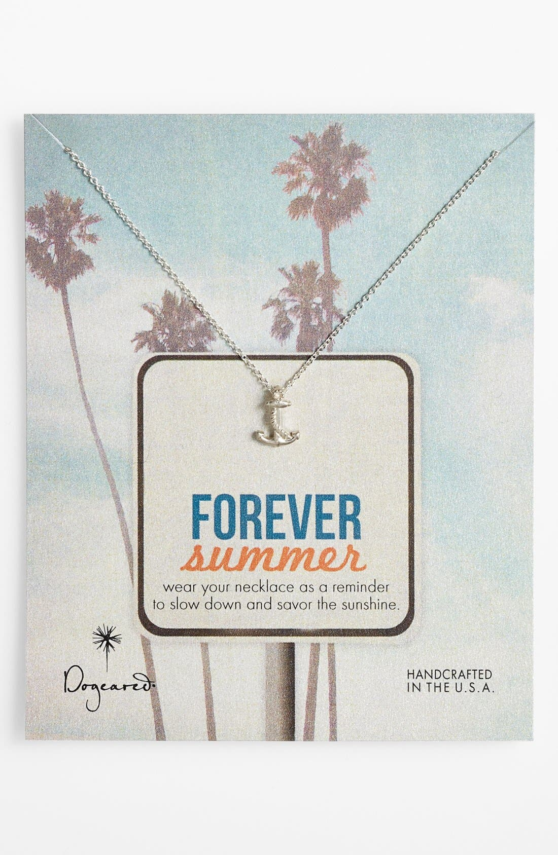Alternate Image 1 Selected - Dogeared 'Forever Summer' Pendant Necklace
