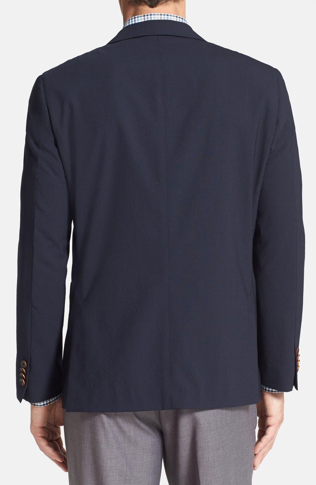 Alternate Image 2  - Ibiza Modern Fit Wool Blend Sport Coat