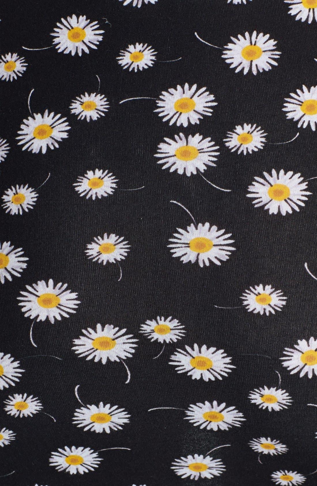 Alternate Image 3  - Lush Print Stretch Knit Wrap Miniskirt (Juniors)