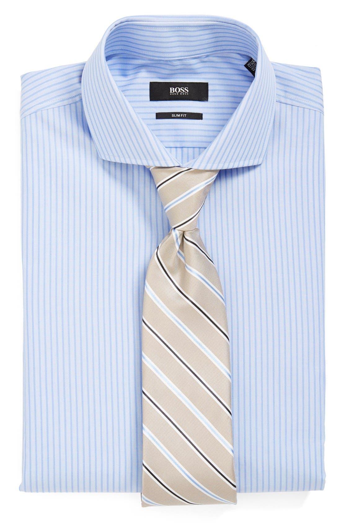 Alternate Image 3  - BOSS HUGO BOSS 'Jason' Slim Fit Dress Shirt
