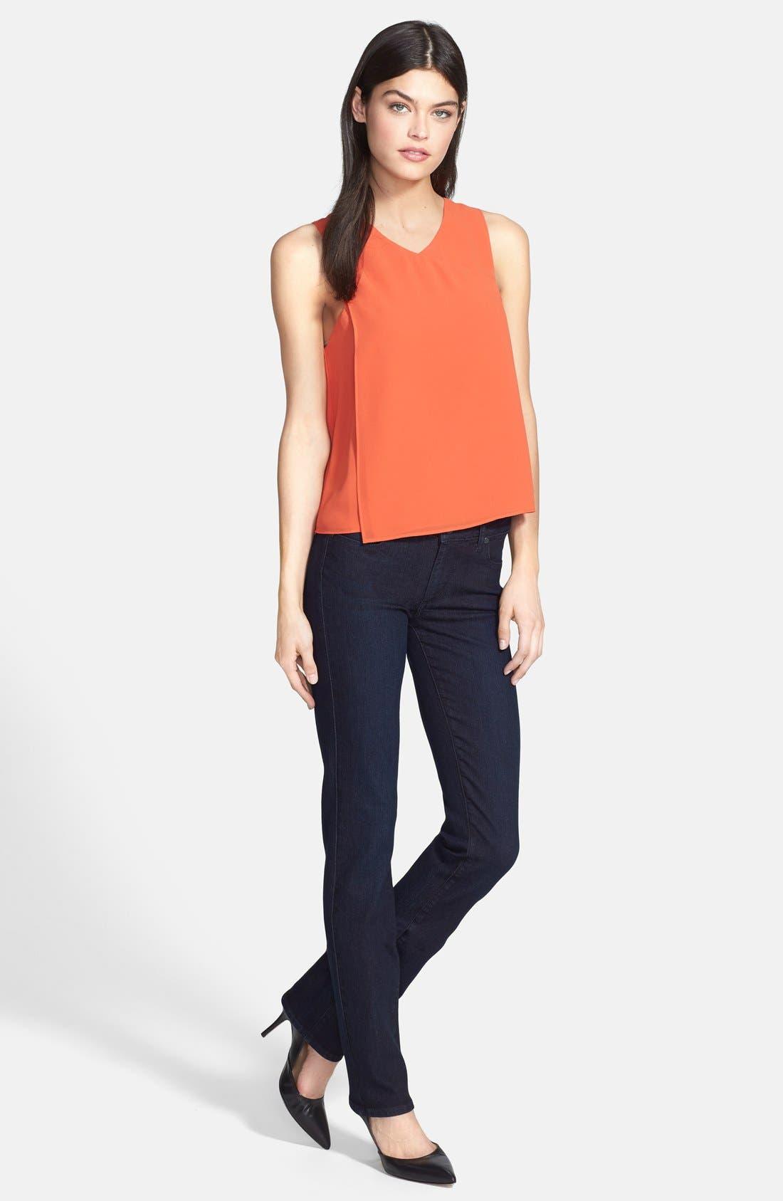Alternate Image 6  - Paige Denim 'Skyline' Straight Leg Jeans (Palmer) (Nordstrom Exclusive)