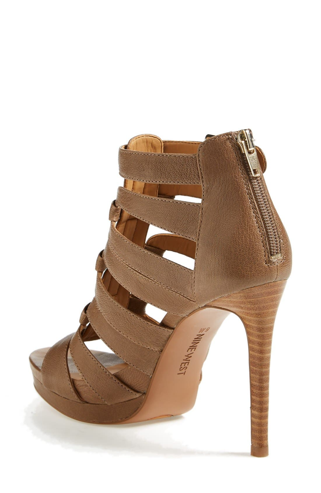 Alternate Image 2  - Nine West 'Bridgider' Cage Sandal (Online Only) (Women)