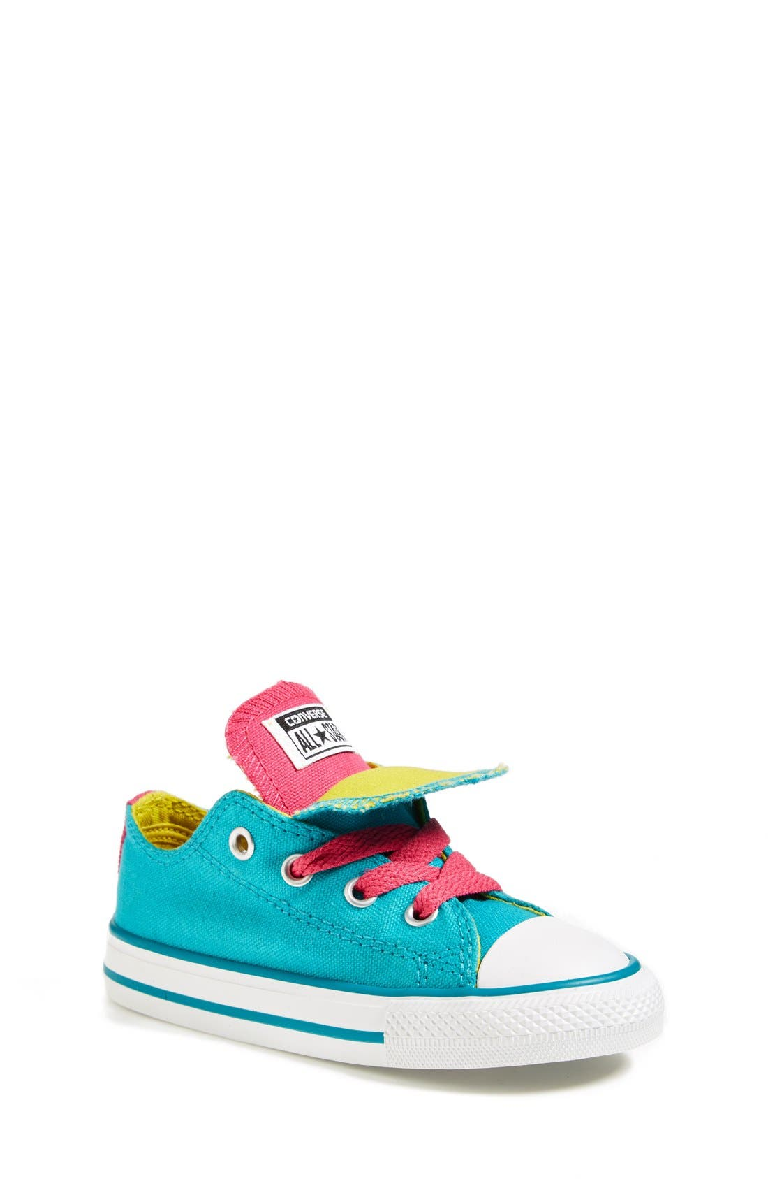 Alternate Image 1 Selected - Converse Chuck Taylor® All Star® 'Double Tongue' Sneaker (Baby, Walker, Toddler, Little Kid & Big Kid)