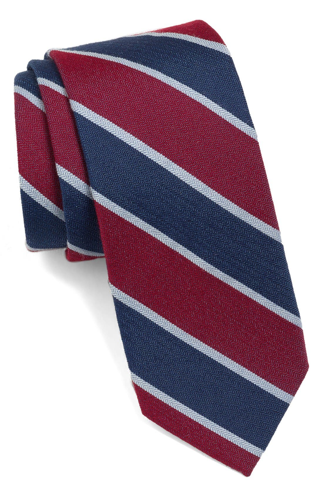 Main Image - 1901 Woven Cotton Tie
