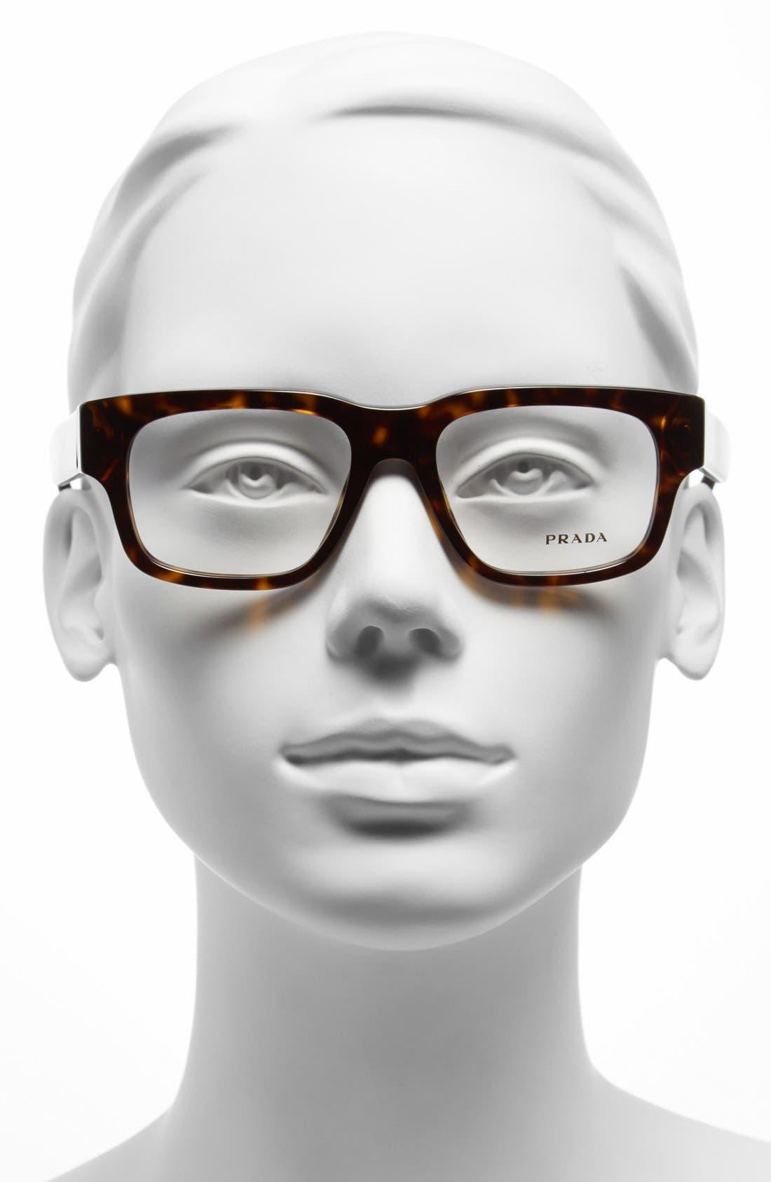Alternate Image 2  - Prada 53mm Optical Glasses (Online Only)