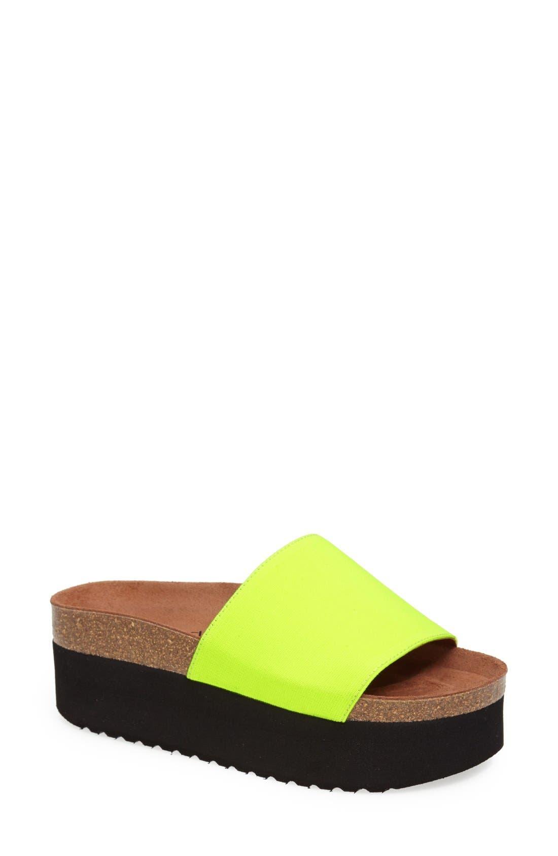 Alternate Image 1 Selected - SIXTYSEVEN 'Isa' Platform Sandal (Women)