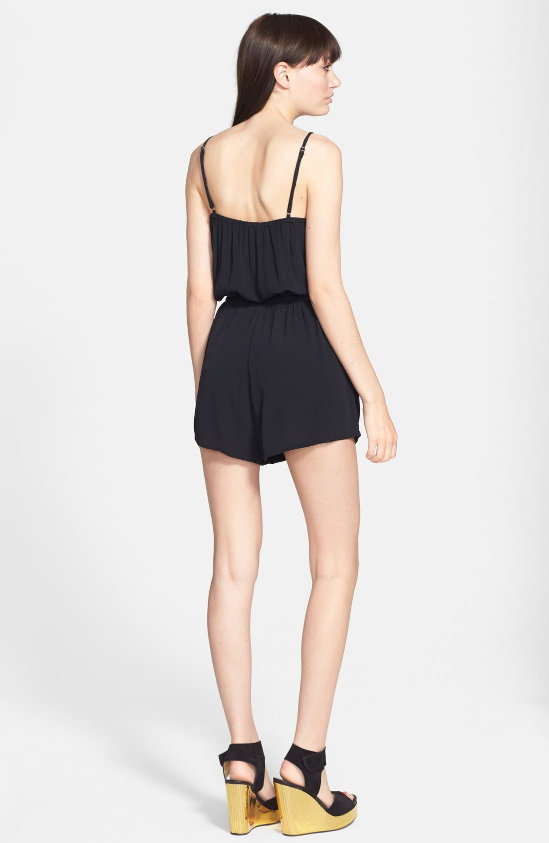 Alternate Image 2  - MINKPINK 'See the World' Crepe Romper