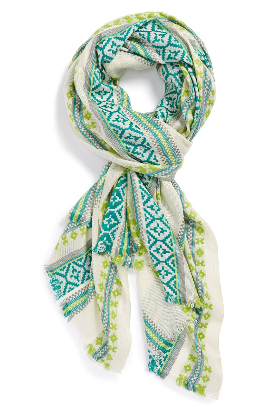 Alternate Image 1 Selected - Vince Camuto Pattern Scarf