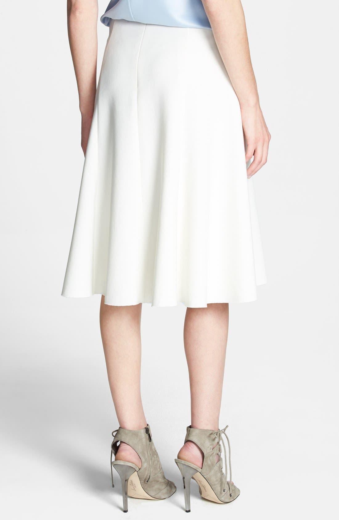 Alternate Image 2  - Chelsea28 Fit & Flare Skirt