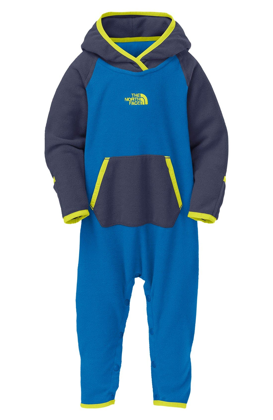 Alternate Image 1 Selected - The North Face 'Glacier' One-Piece (Baby Boys)