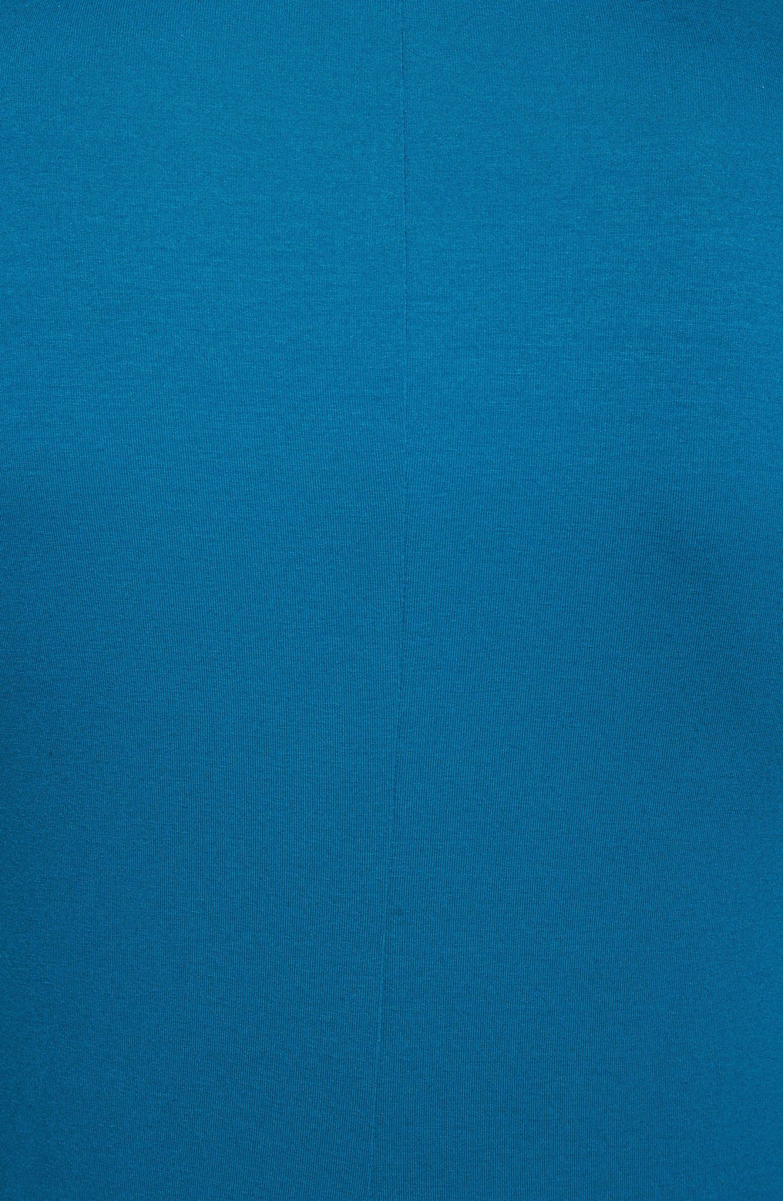 Alternate Image 3  - Eileen Fisher Drapey V-Neck Dress (Regular & Petite)