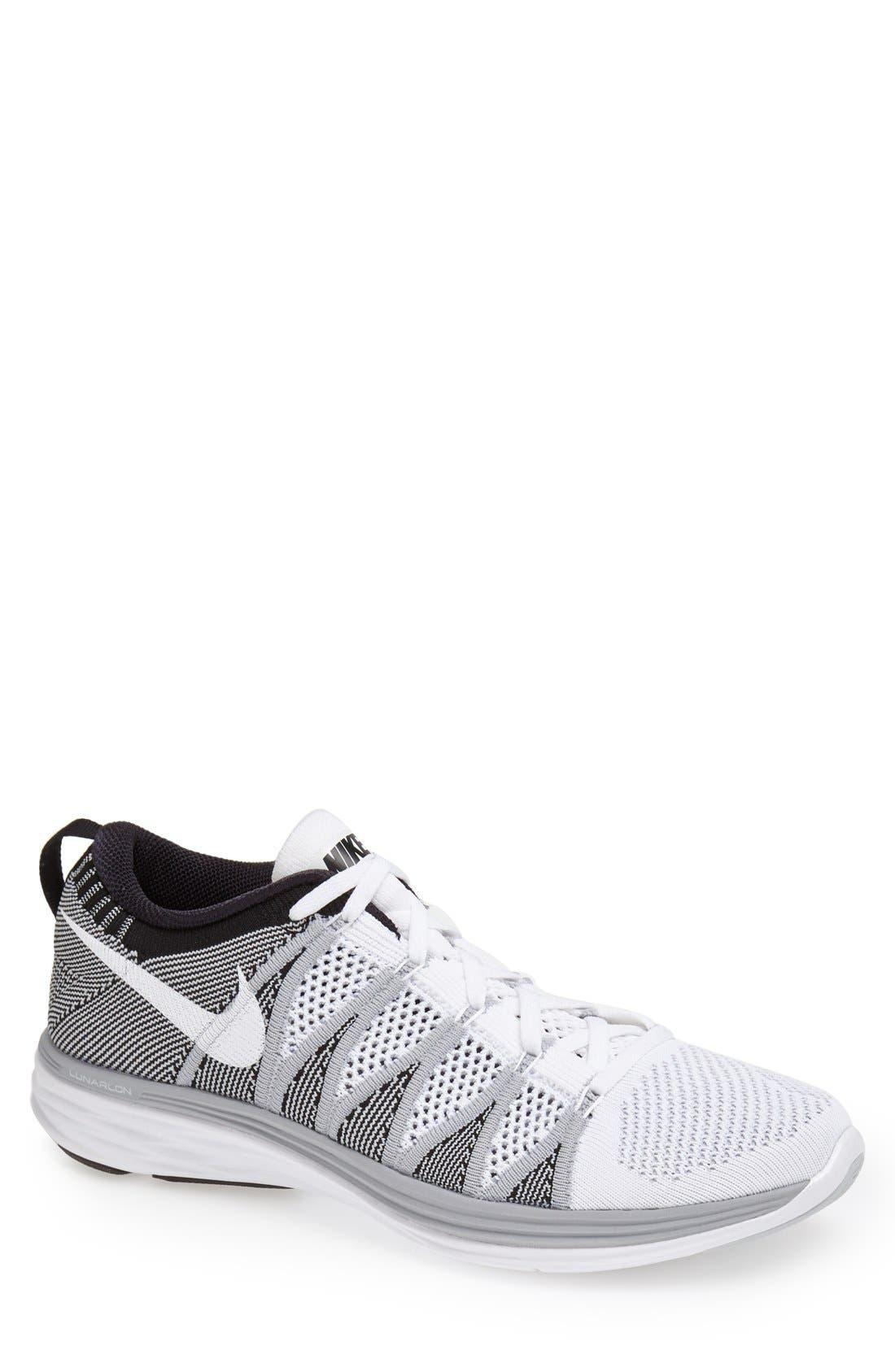 Alternate Image 1 Selected - Nike 'Flyknit Lunar2' Running Shoe (Men)