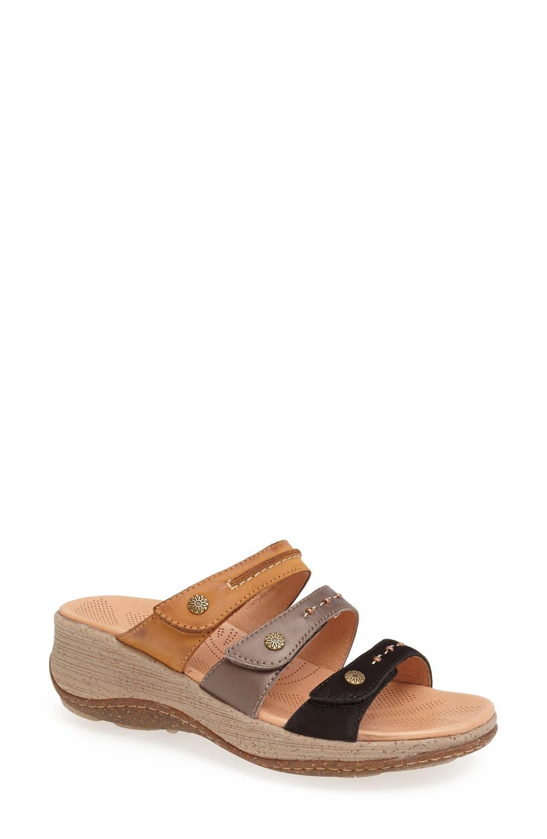 Main Image - Acorn 'Vista' Wedge Sandal (Women)
