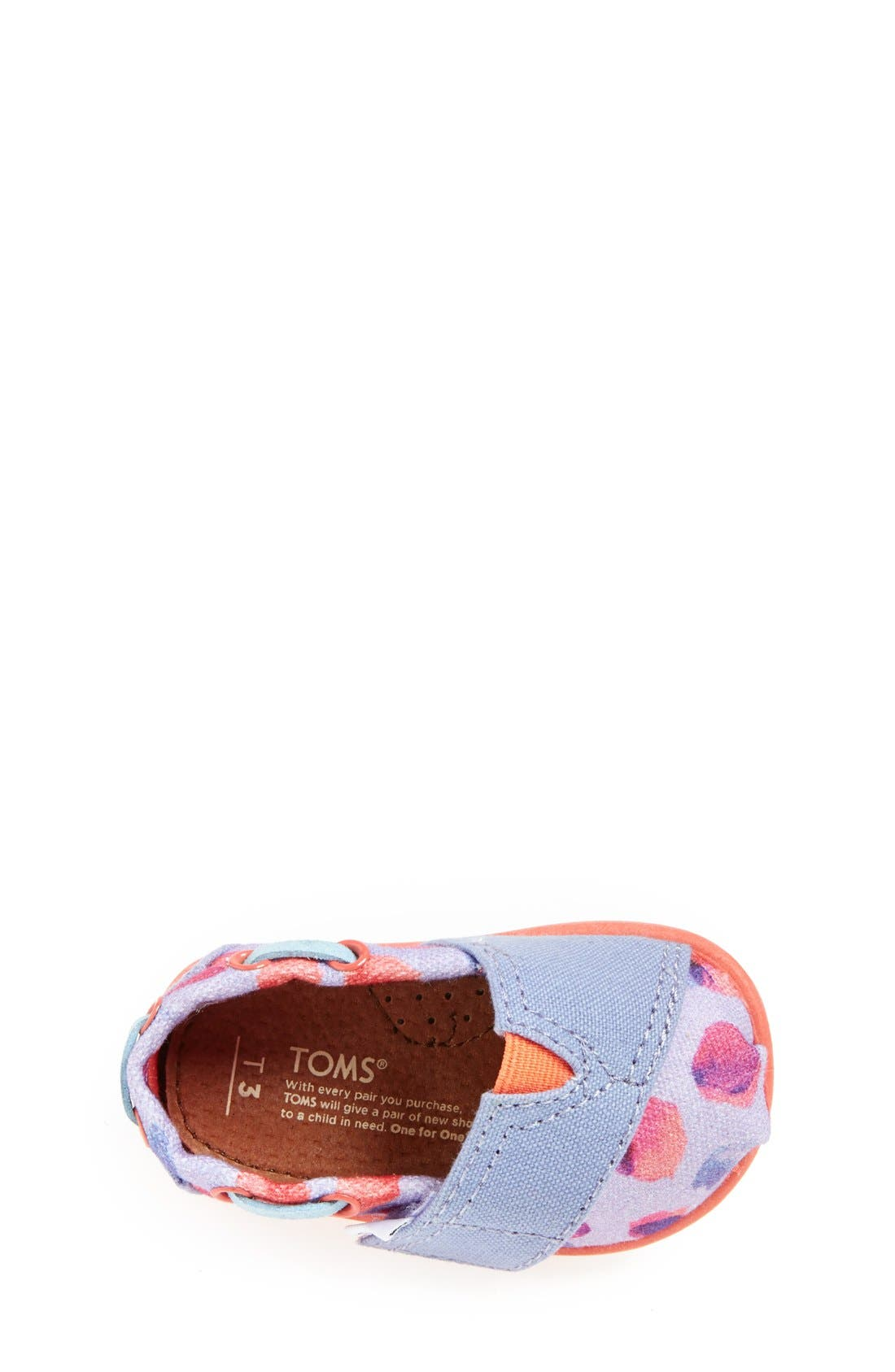 Alternate Image 3  - TOMS 'Bimini Tiny - Water Dot' Slip-On (Baby, Walker & Toddler)