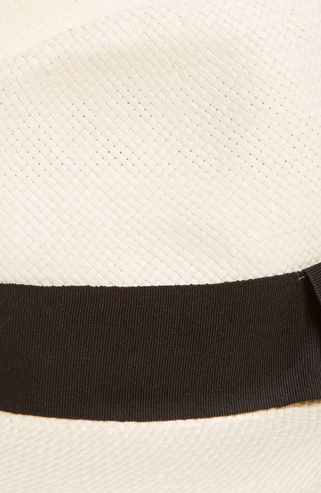 Alternate Image 2  - Michael Stars 'Well Weathered' Straw Panama Hat