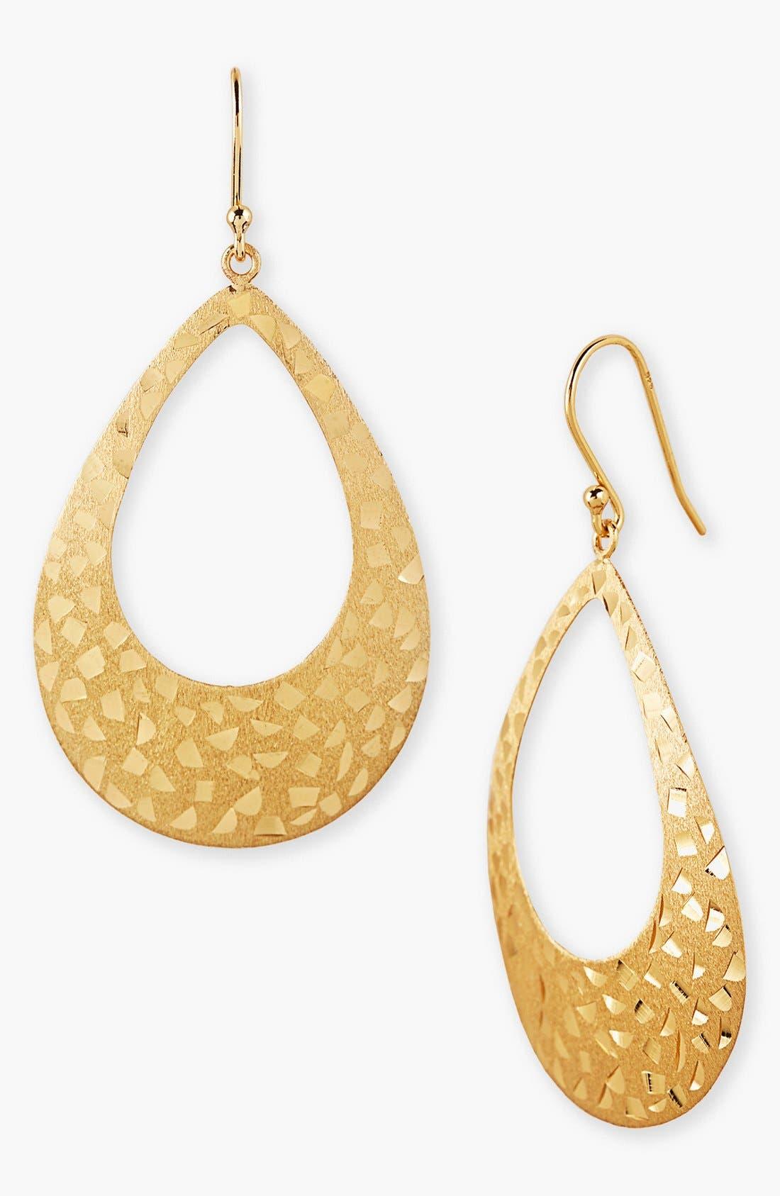 Main Image - Argento Vivo Teardrop Earrings