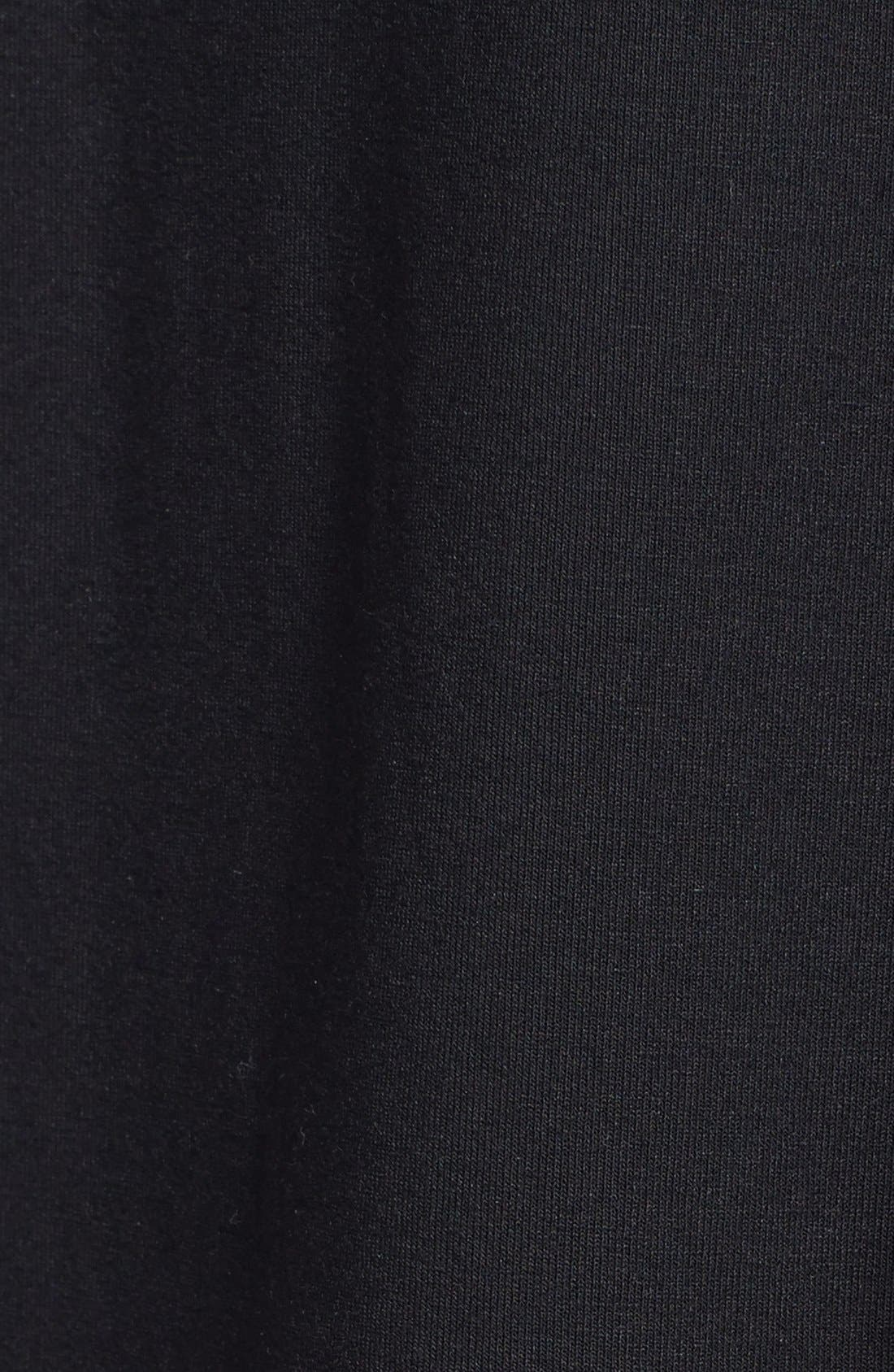 Alternate Image 3  - Eileen Fisher Lace Hem Scoop Neck Jersey Shift Dress (Plus Size)