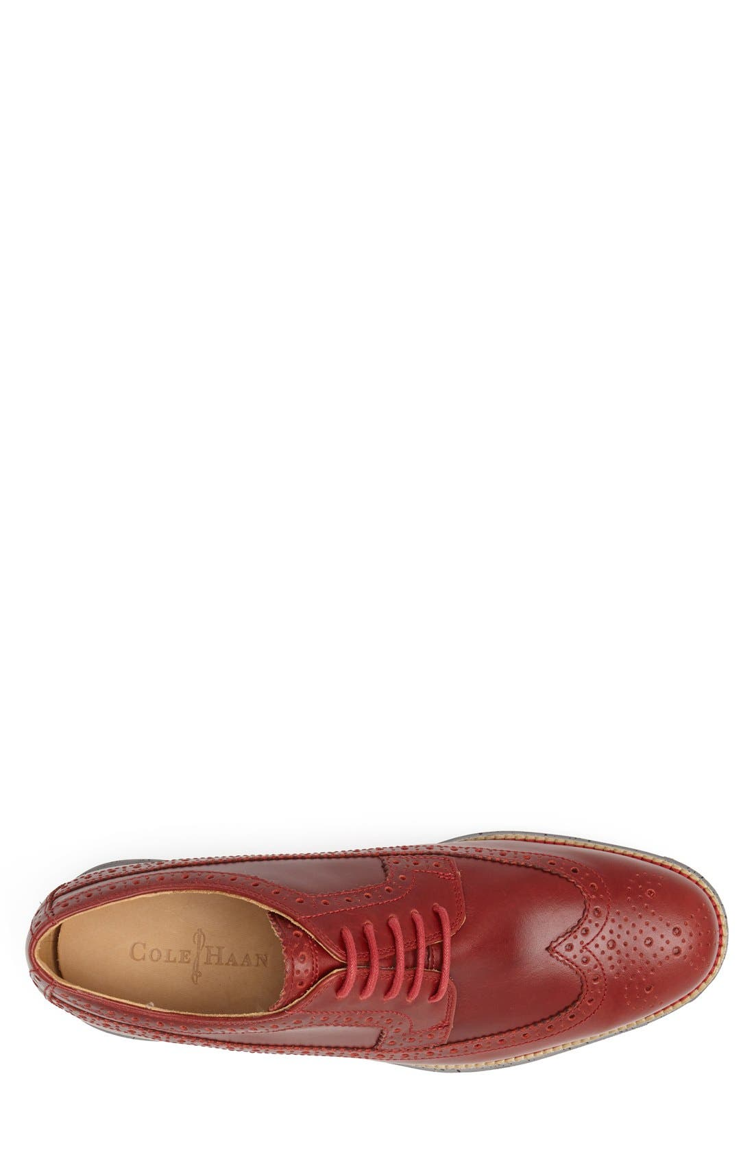 Alternate Image 3  - Cole Haan 'LunarGrand' Longwing Derby (Men) (Nordstrom Exclusive)
