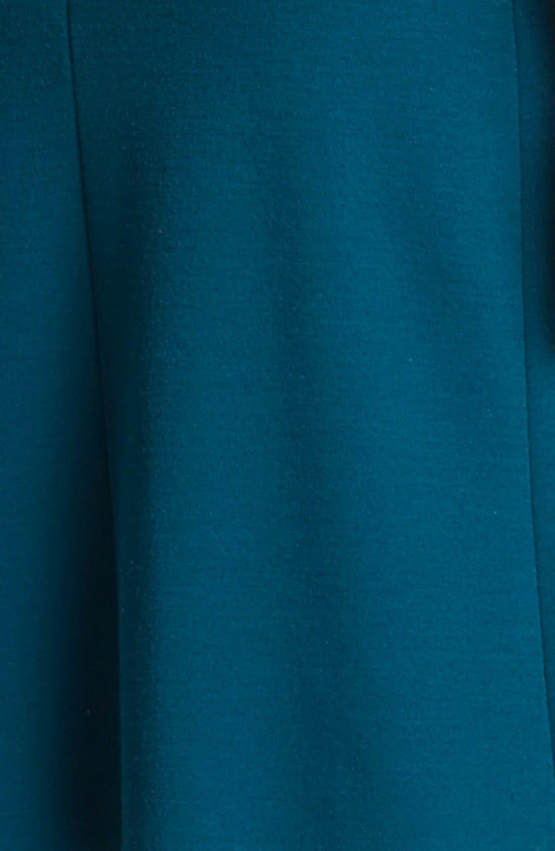 Alternate Image 3  - Lanvin Cap Sleeve Wool Jersey Fit & Flare Dress