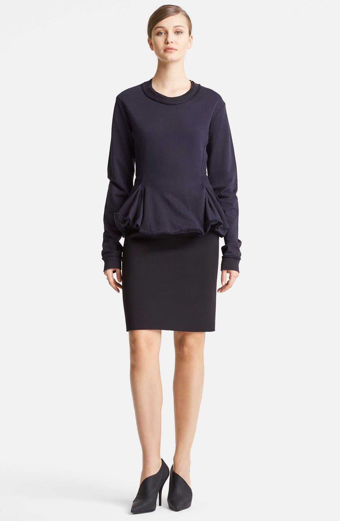 Alternate Image 4  - Lanvin Two-Tone Pencil Skirt