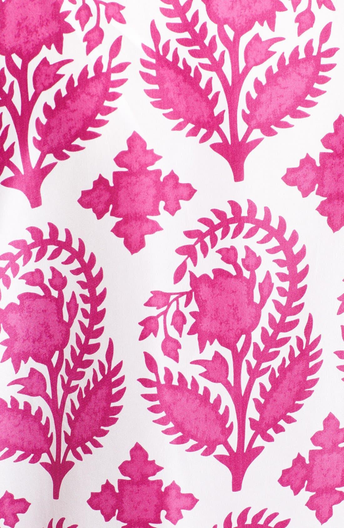 Alternate Image 3  - Diane von Furstenberg 'New Hanky' Print Silk Top