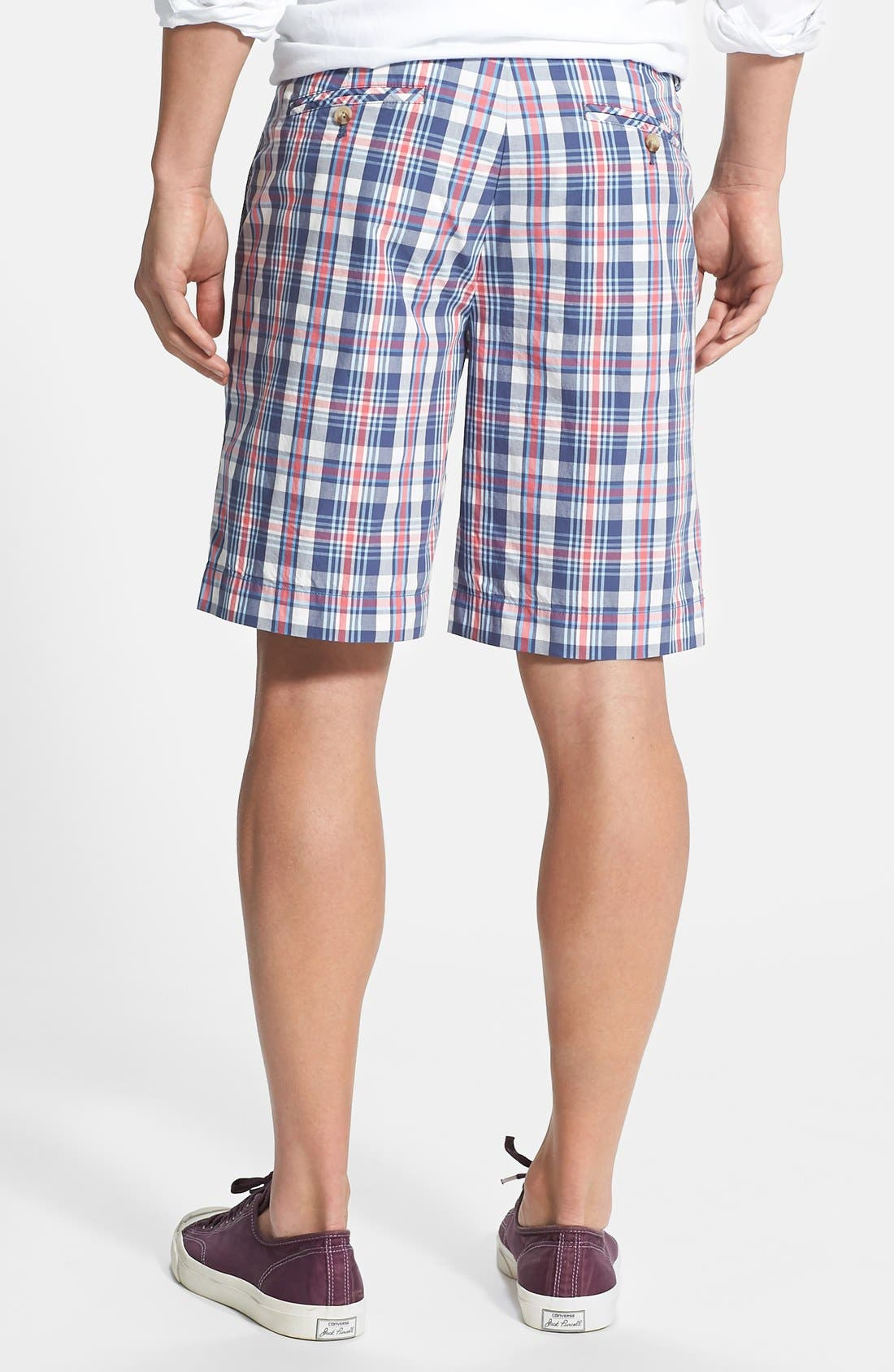 Alternate Image 2  - Vineyard Vines 'Harrington' Classic Fit Plaid Shorts
