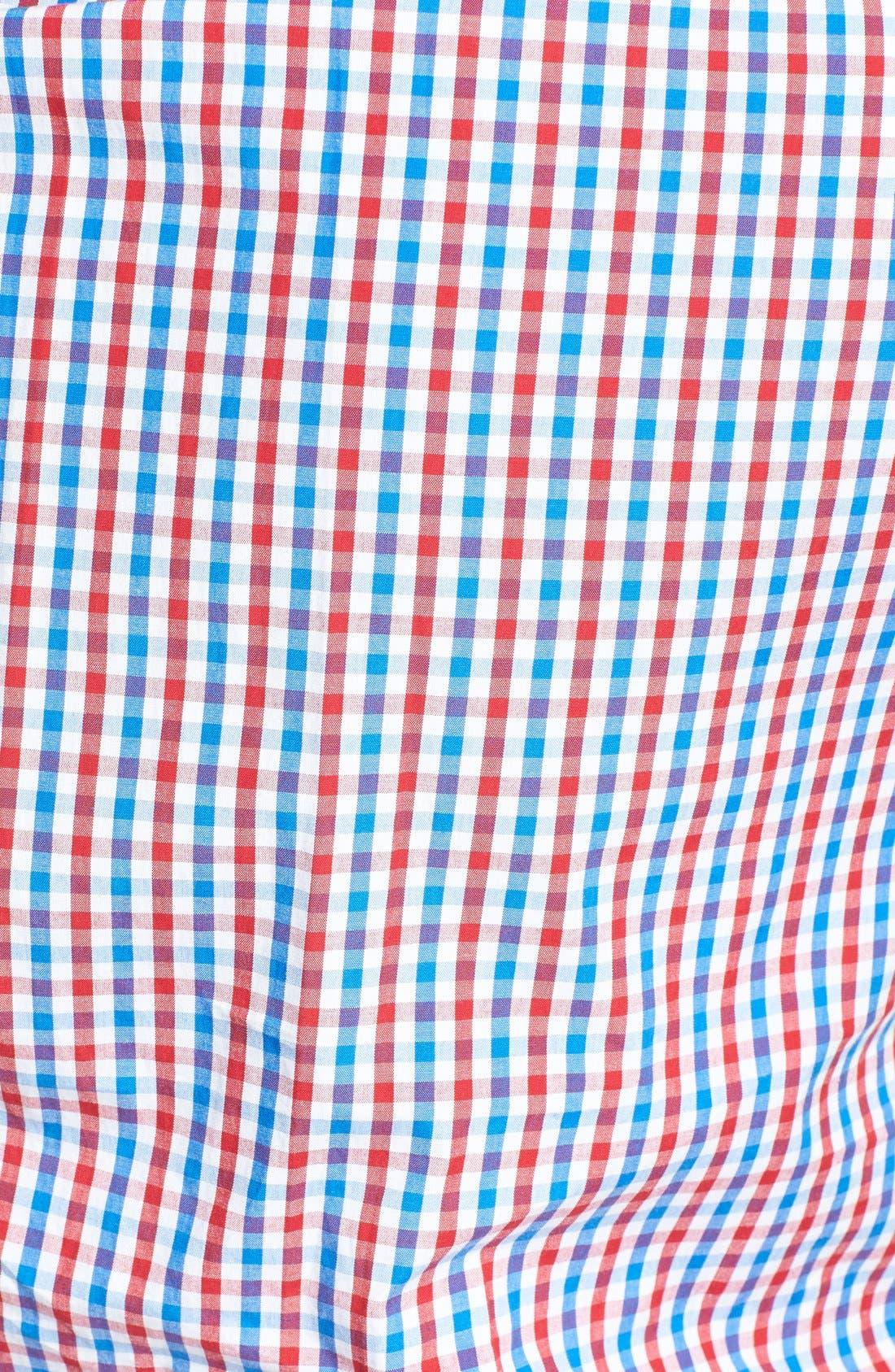 Alternate Image 3  - Vineyard Vines 'Tucker - Bailey's Bay' Classic Fit Tattersall Sport Shirt