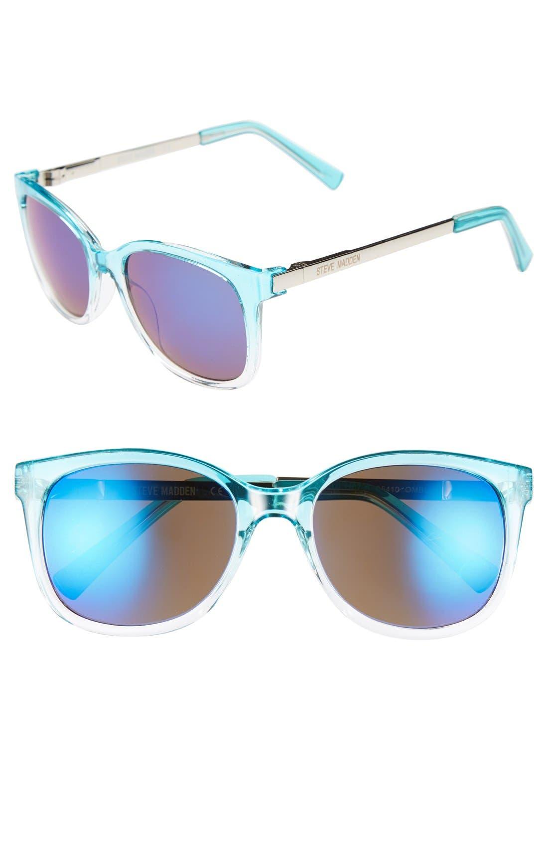 Alternate Image 1 Selected - Steve Madden 52mm Sunglasses