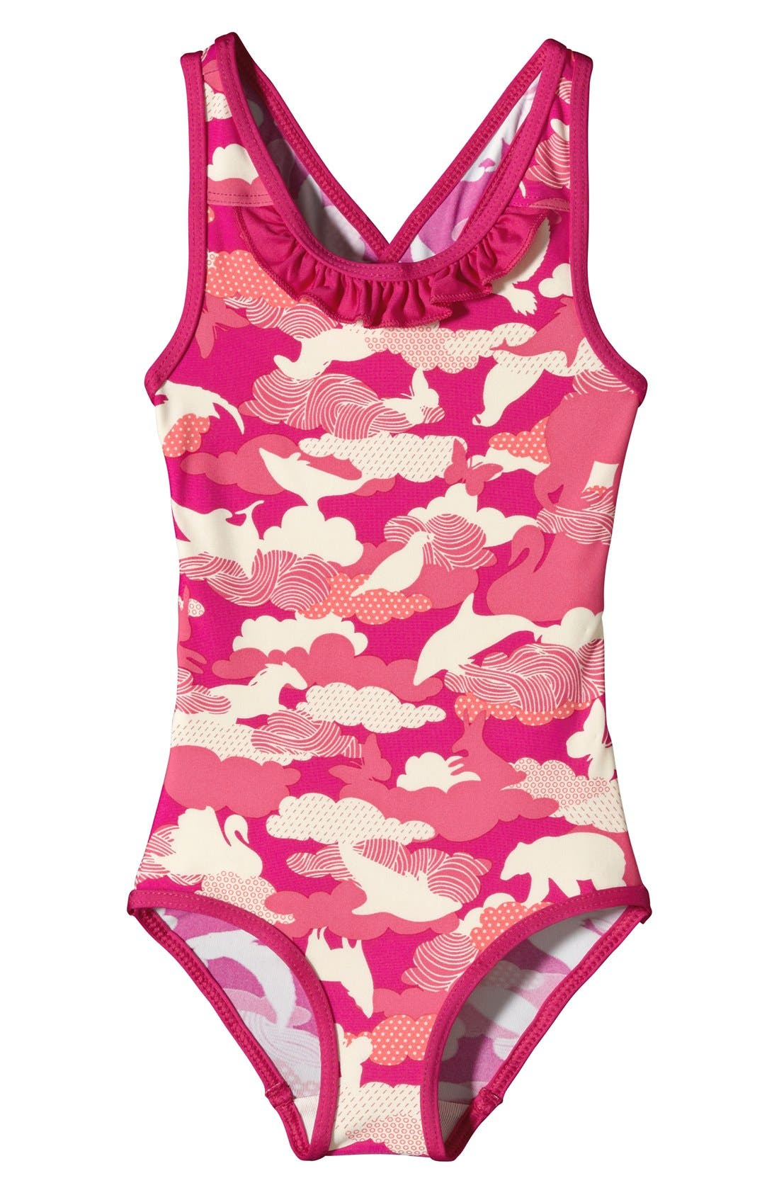 Alternate Image 1 Selected - Patagonia 'QT' One-Piece Swimsuit (Toddler Girls)