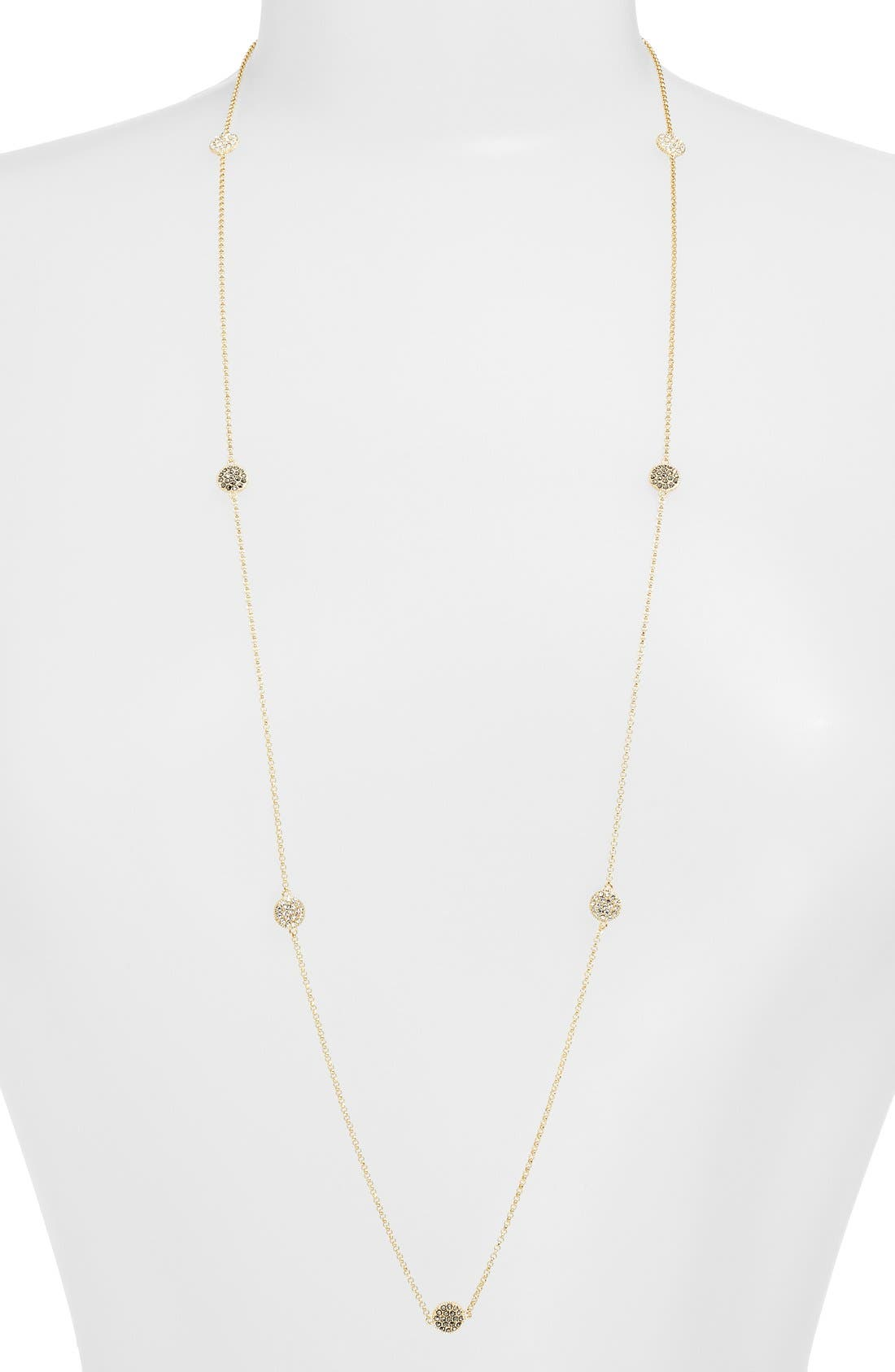 Judith Jack Long Illusion Necklace