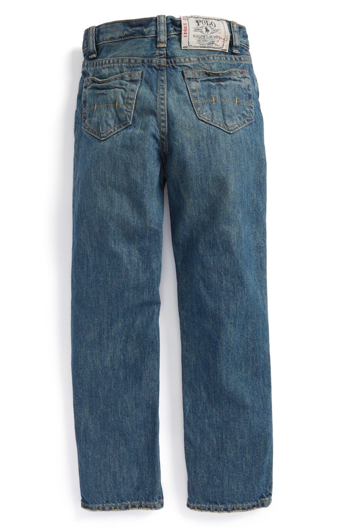 Alternate Image 2  - Ralph Lauren 'Mott' Slim Fit Jeans (Little Boys)