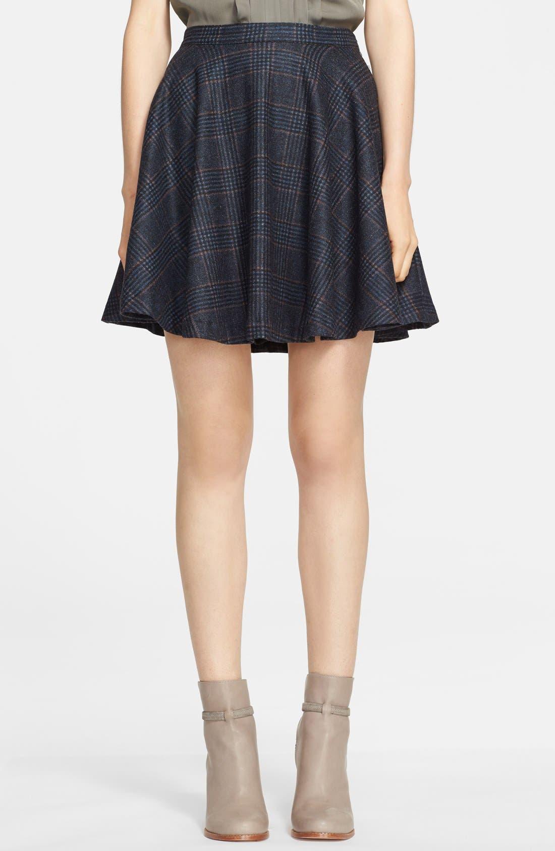 Alternate Image 1 Selected - Joie 'Ivanna' Plaid Flare Skirt
