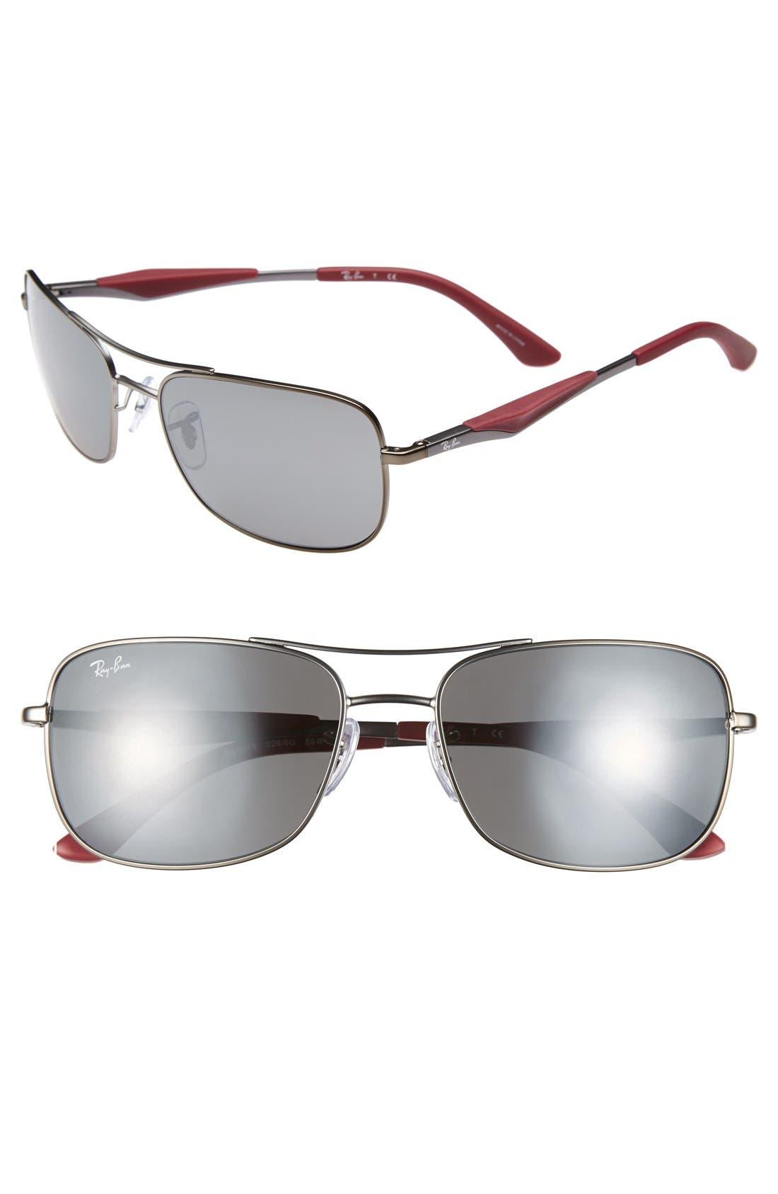 Alternate Image 1 Selected - Ray-Ban 58mm Sunglasses