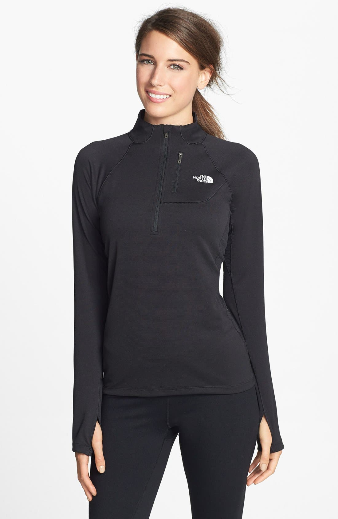 Alternate Image 1 Selected - The North Face 'Impulse Active' Quarter Zip Top