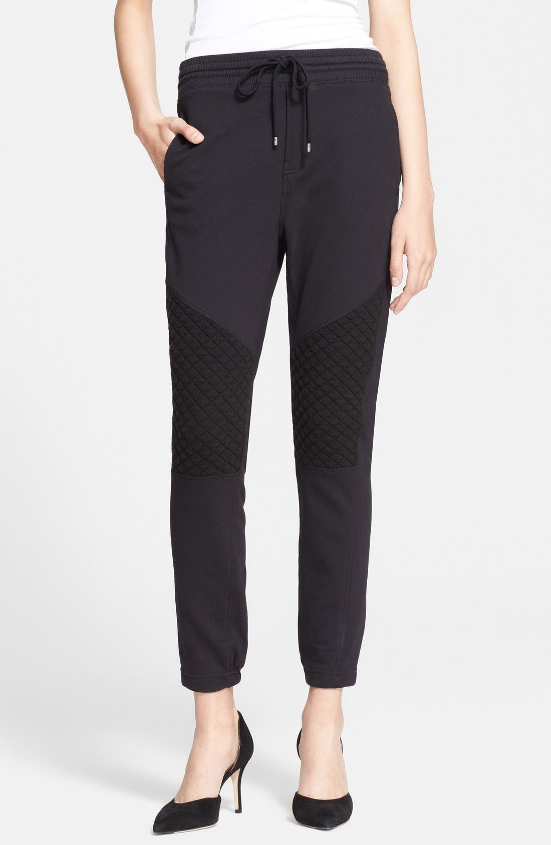 Alternate Image 1 Selected - Vince Sweat Pants with Quilt Detail