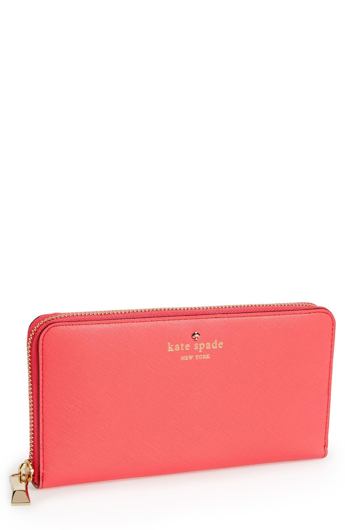 Main Image - kate spade new york 'cherry lane - lacey' wallet