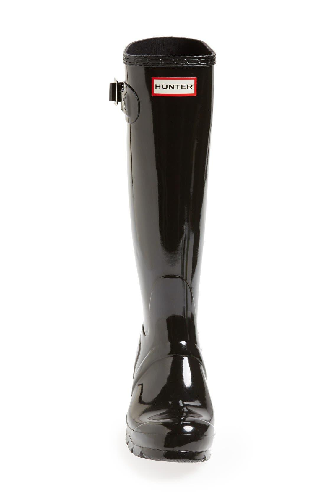 Alternate Image 3  - Hunter Original High Gloss Boot (Women)