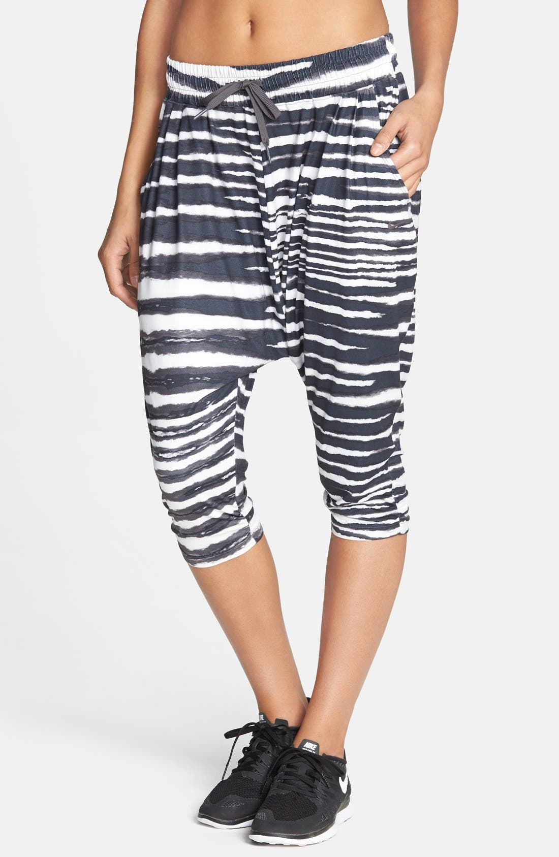 Alternate Image 1 Selected - Nike 'Avant Move - Tiger' Dri-FIT Harem Capri Pants