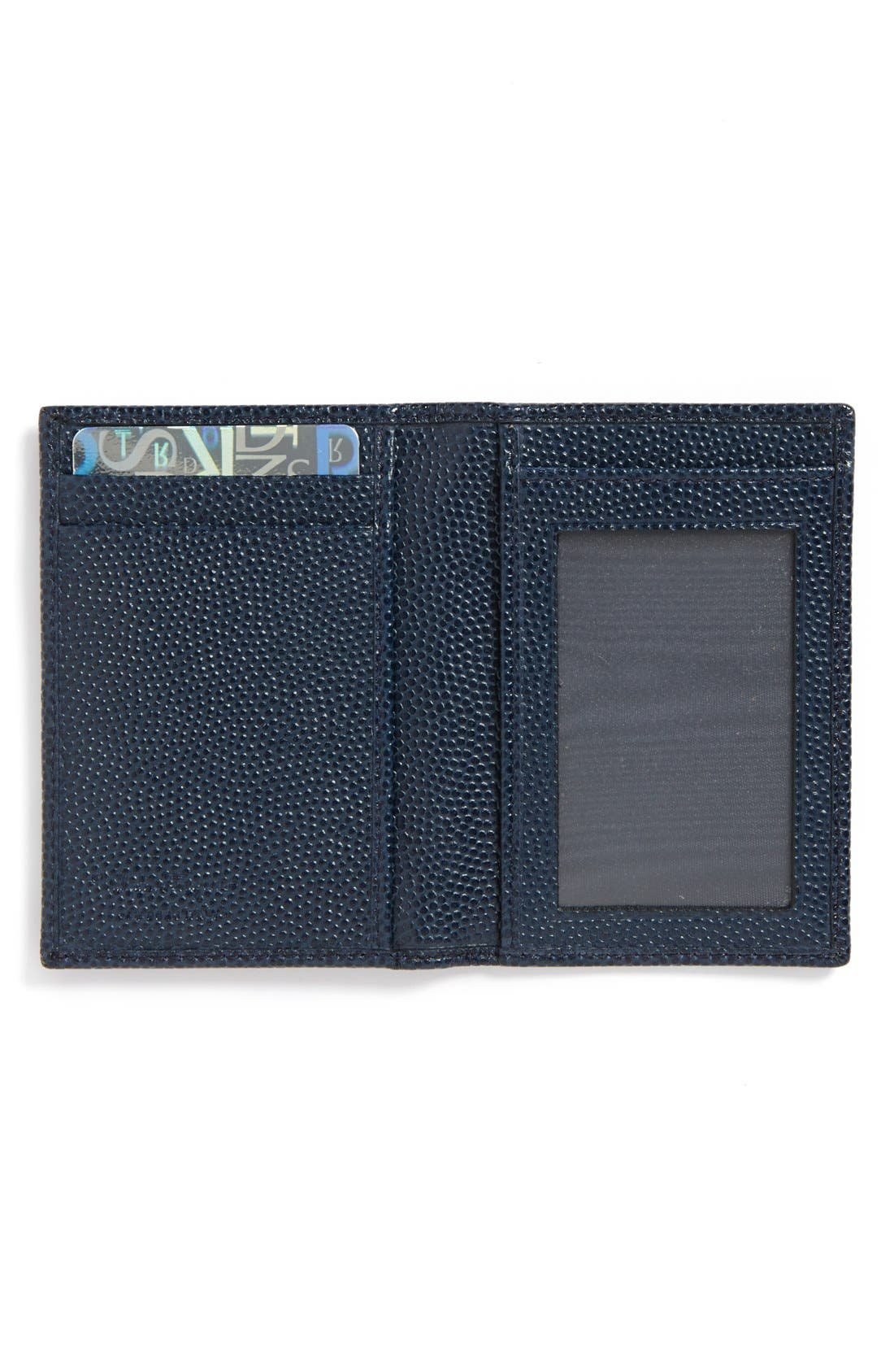 Alternate Image 2  - Salvatore Ferragamo 'Ten Forty One' Leather Card Case