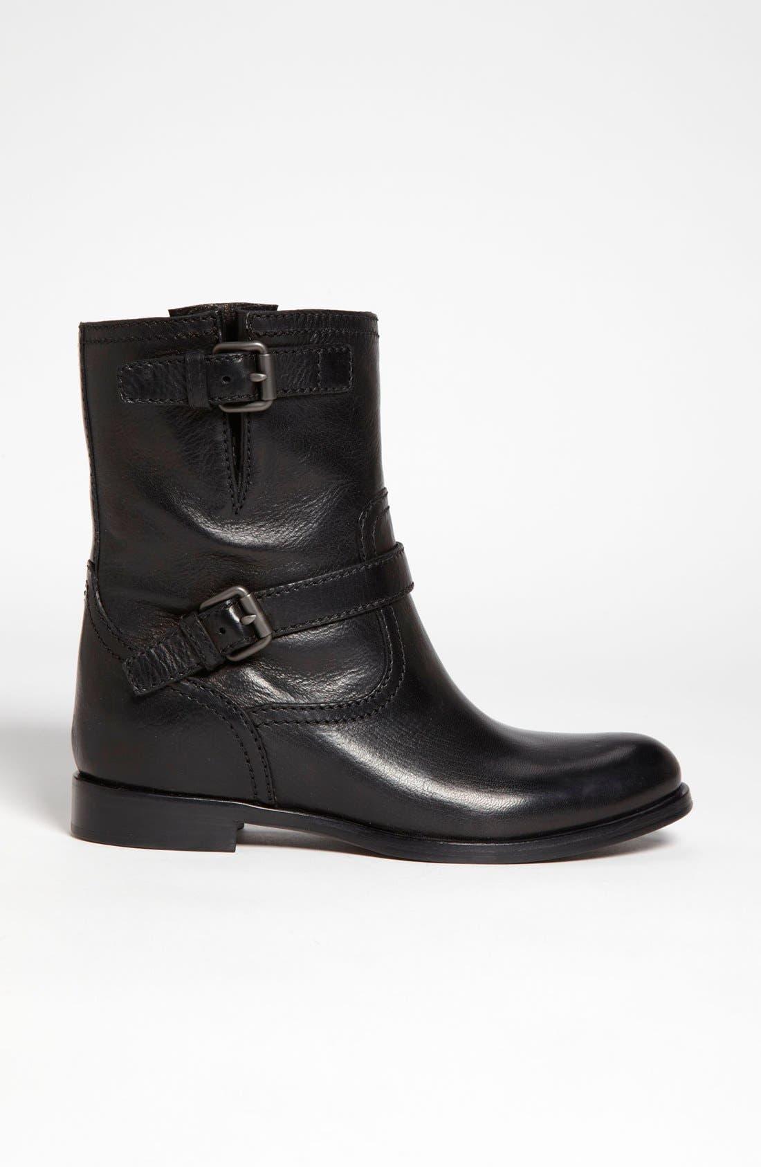 Alternate Image 4  - Prada Double Buckle Short Boot (Women)