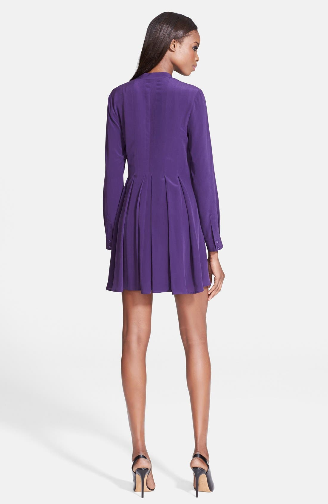 Alternate Image 2  - McQ by Alexander McQueen Silk Shirtdress