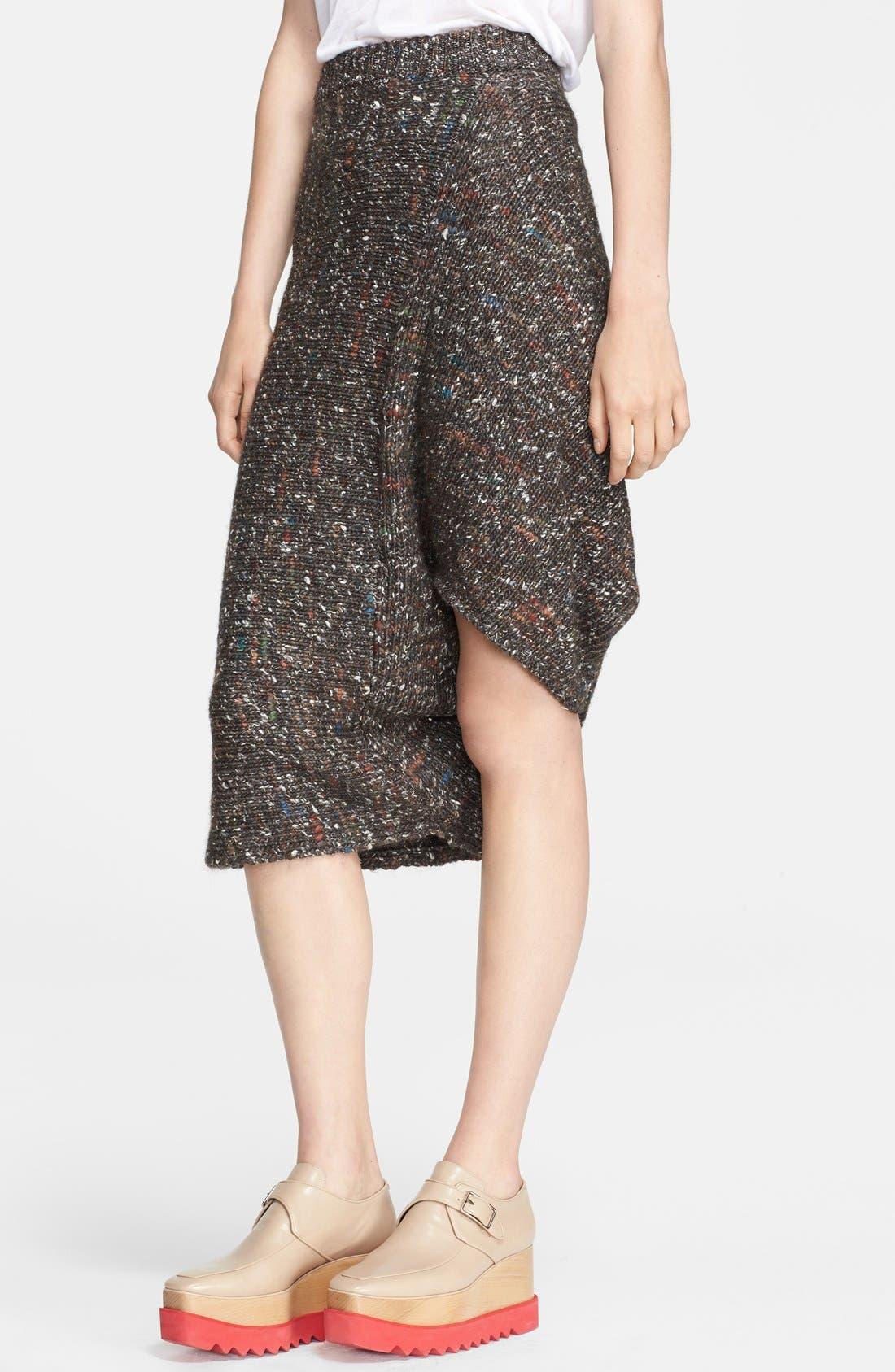 Main Image - Stella McCartney Mélange Knit Skirt
