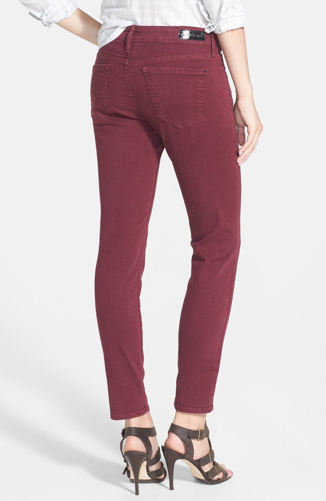 Alternate Image 2  - !iT Collective 'Taylor' Colored Easy Ankle Skinny Jeans