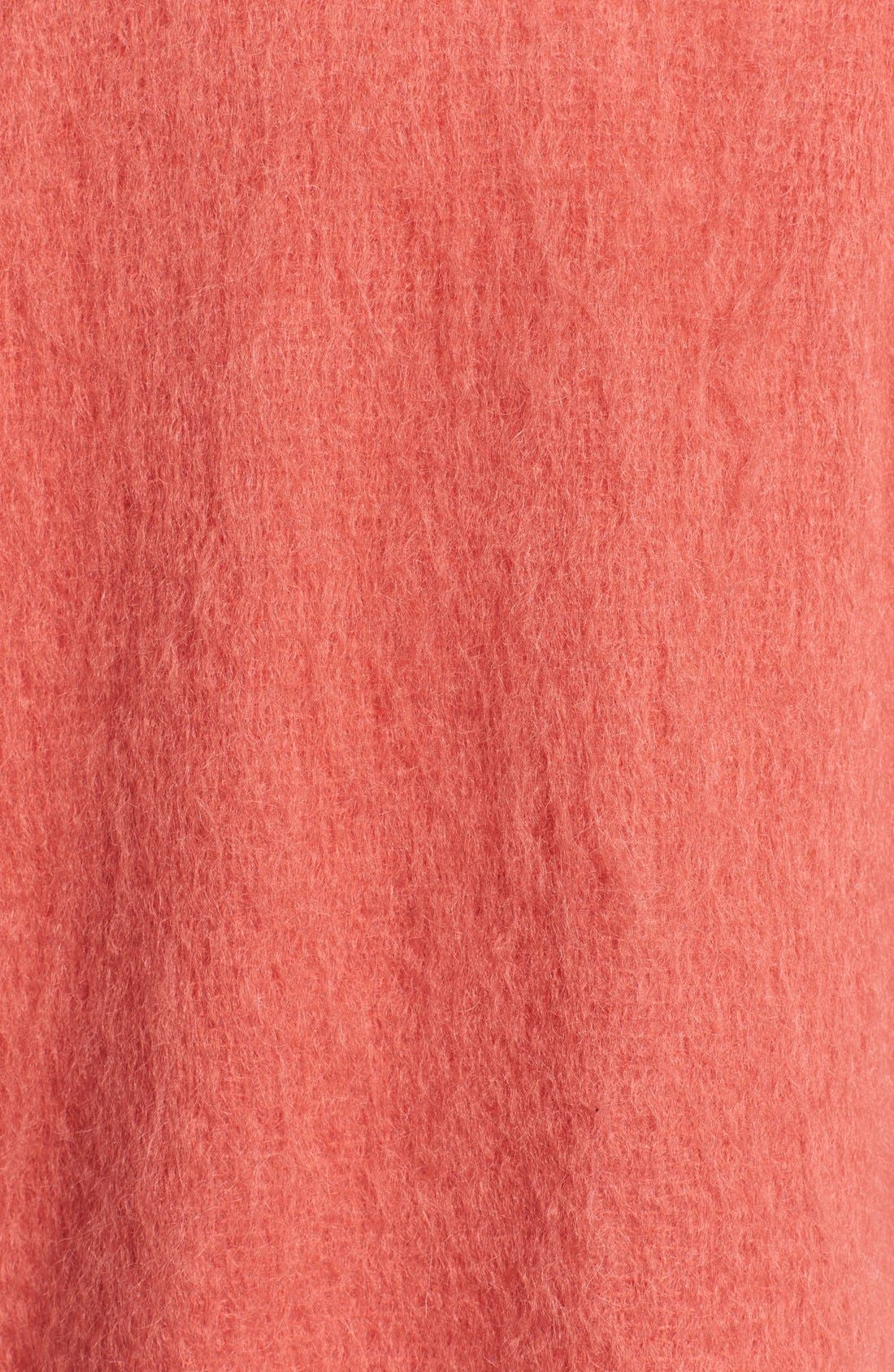 Alternate Image 3  - Helene Berman Mohair Kimono Coat