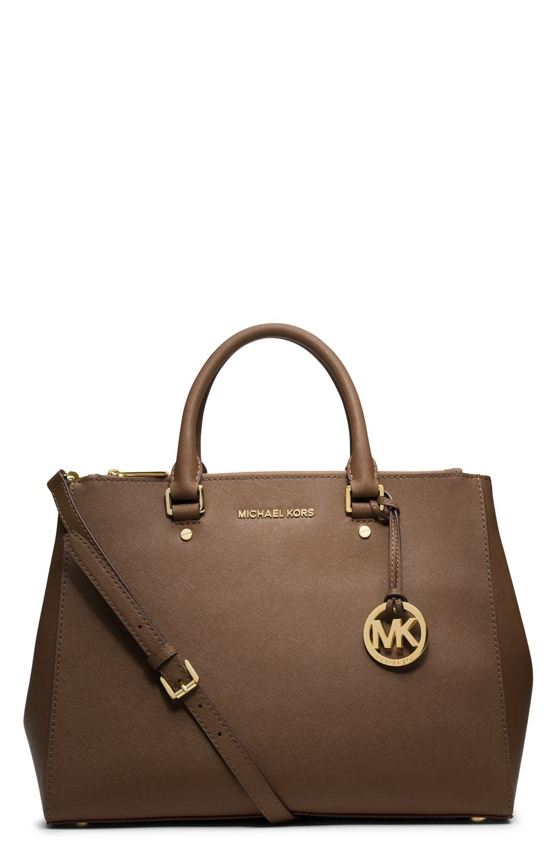 Alternate Image 1 Selected - MICHAEL Michael Kors 'Large Sutton' Satchel