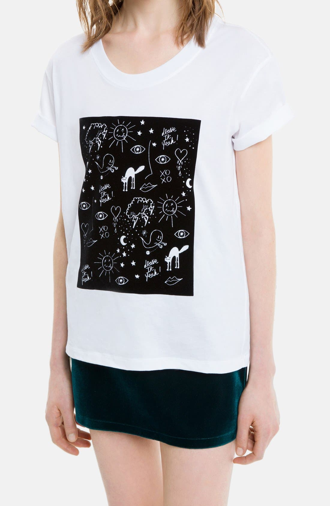 Alternate Image 3  - sandro 'Taylor' Graphic Tee