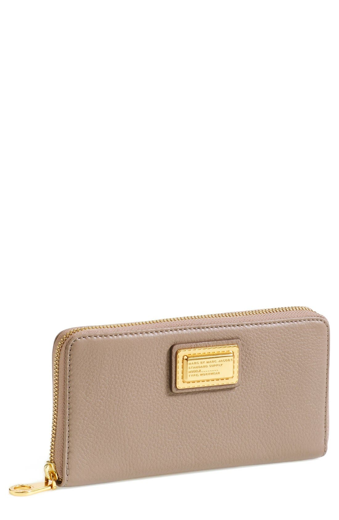 Alternate Image 1 Selected - MARC BY MARC JACOBS 'Vertical Zippy' Wallet