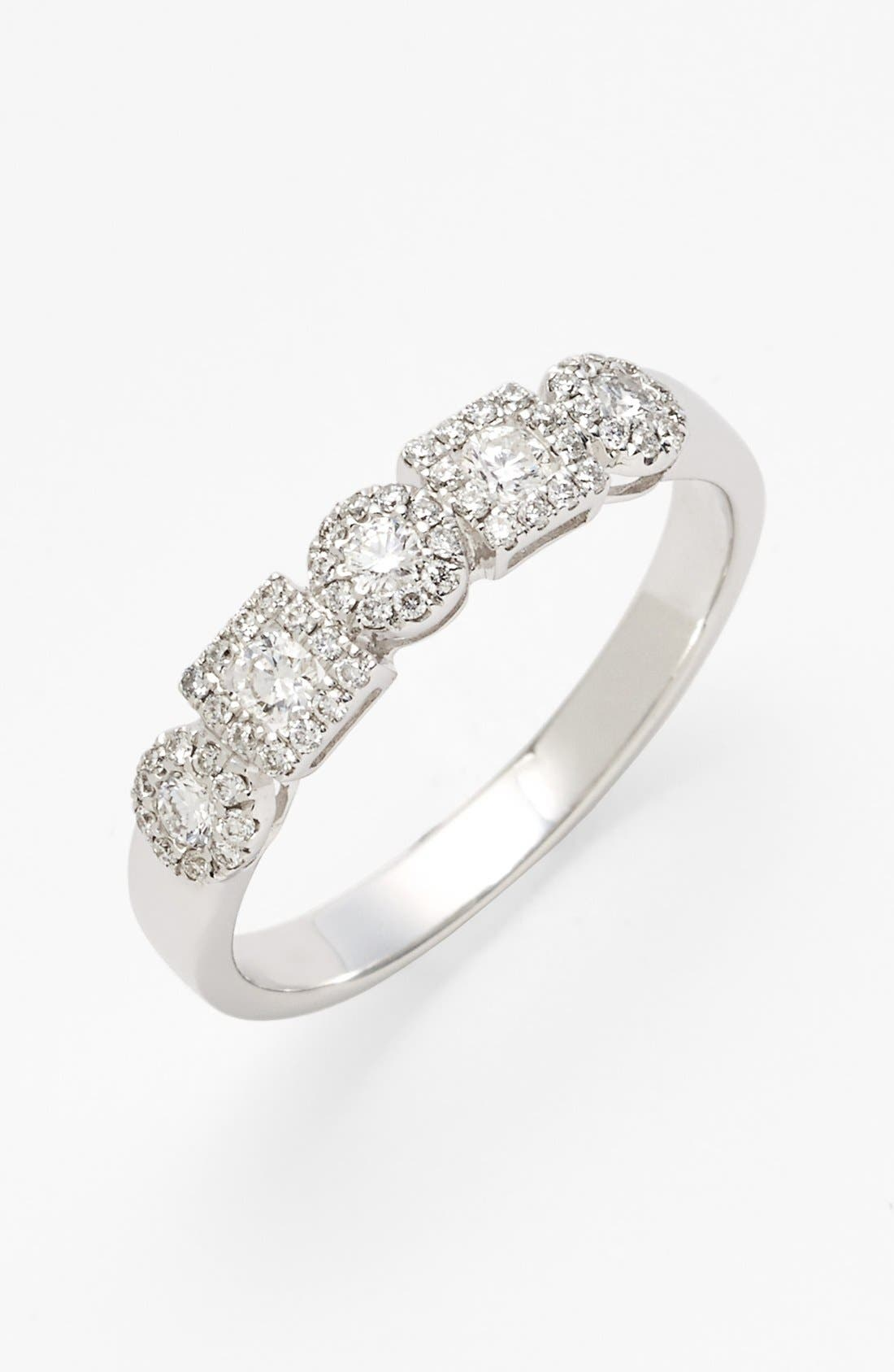 Main Image - Bony Levy 'Maya' Stackable Diamond Ring (Nordstrom Exclusive)